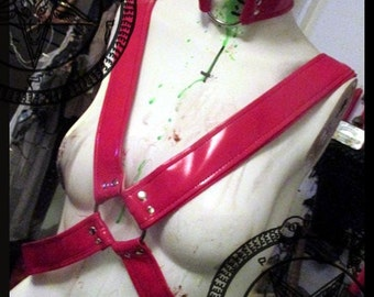 Vampirella Bondage Harness VEGAN FRIENDLY