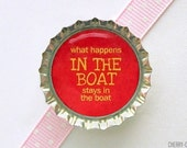 Funny Fishing Red Bottle Cap Magnet - fathers day gift ideas, mens gifts, for men, guy gifts, fishing theme party, funny fish magnet fridge