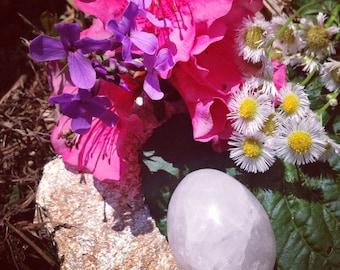 SALE! Rose Quartz Yoni Egg