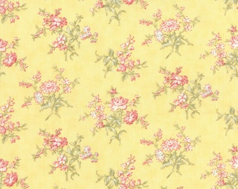 Whitewashed Cottage - Blossom Buds in Daffodil by 3 Sisters for Moda Fabric