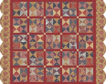 La Vie Boheme Quilt Pattern from French General