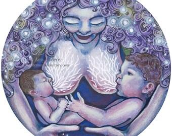 """Sticker - """"Rumina"""" Mandala"""