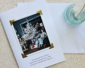 Funny Christmas Card Being With Family a Sassy Saying