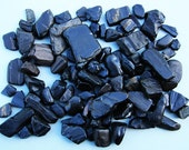 Whitby Jet - 100g of Natural sea washed Whitby Jet pieces, jewellery grade