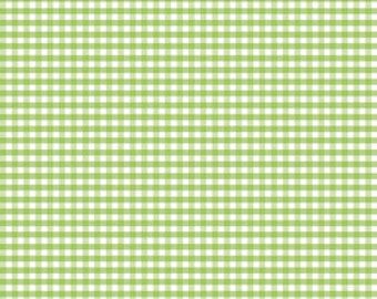 Small Gingham Green by Riley Blake