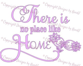 There is no place like home SVG Home svg No place like home svg  digital cut file  svg Instant download