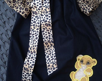 Lion Baby inspired dress