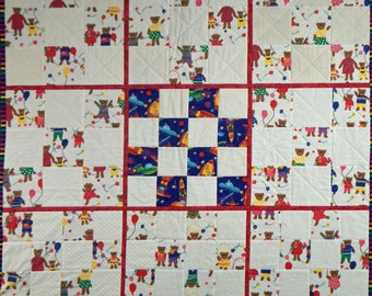 Baby Quilted Wall Hanging, 4800-0, Childs Wall Quilt, Crib Quilt