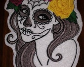 Day of The Dead, Skull, Girl,