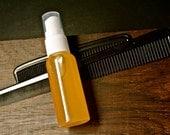 Argan Oil Hair Spray Serum 2 oz. Finishing Gloss, Spray on Shine, CHOOSE SCENT, Essential Oil, Fragrance, Copper Shimmer Sparkle