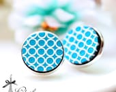 20% off -NEW Unique 3D Embossed  16mm Round Handmade Wood Cut Cabochon to make Rings, Earrings, Bobby pin,Necklaces, Bracelets-(WG-235)
