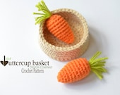 CROCHET PATTERN, Carrot Crochet Pattern, Crochet Children's Toy, Amigurumi Crochet Carrot, Crochet Play Food Pattern, Kids Toys, Toy Pattern