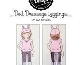 Doll Dressage Leggings Pattern