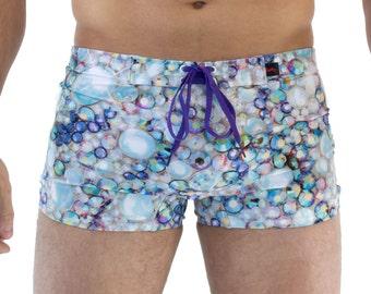 Men's Crystal Swim Trunk