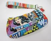 Wristlet, Custom Made, You pick the fabrics, cotton, small, medium or large