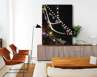 Fairy Lights Canvas Ready to Hang - Canvas Art - Photography