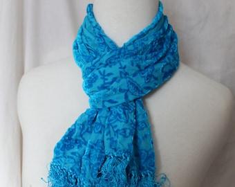 Silk Velvet Scarf choice