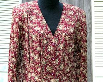Vintage Express Floral Dress