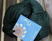 CHUNKY Weight Yarn -  Green (#5)  PureTanguis Cotton - 100 g 132 yards - Mirasol Hapi  -  Peru