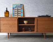 Kasse Credenza / TV Stand - Solid Cherry - custom for Diane