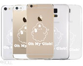 Adventure Time Lumpy Space Princess Oh My Glob Clear Phone Case Apple Android