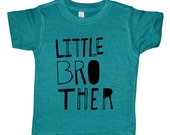 Little Brother Shirt - Boys Top - Sketchy Little Bro Kids Shirt - Boys Clothing For Baby and Toddler and Youth - Kids Clothes Brother Shirt