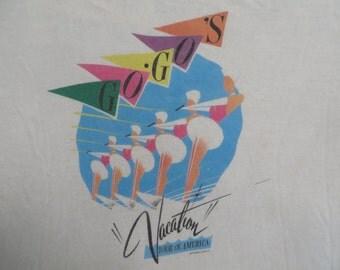 GO GO'S 1982 tour TSHIRT