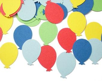 100 Summer Days Balloon Punch Die Cut Confetti Cutout Scrapbook Embellishments - No907