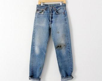 vintage Levi's 501 denim jeans, waist 31