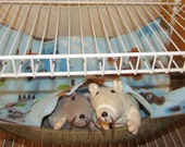 """EX-Large (17""""x19"""") Double Layered Hammock, Guinea Pigs, Ferrets, Rabbits, Chinchillas, Rats, Cats, Dogs, Raccoon's, Baby Animals"""