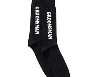 Groomsmen gift, groomsman Socks, Groom Socks, Wedding Socks, Wedding Party Gift, Bridal Party Socks, Groomsmen