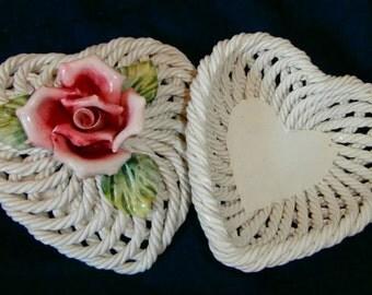 Lovely Porcelian Heart Box