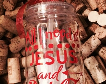 All I need is Jesus and Diet Coke