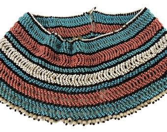 Xhosa Beaded Collar/Necklace South Africa 92222