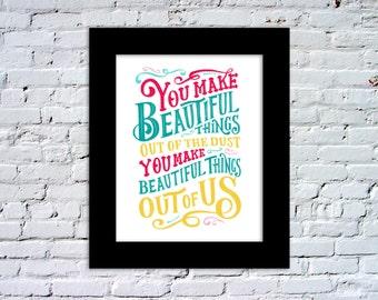 Gungor - You Make Beautiful Things Color Print
