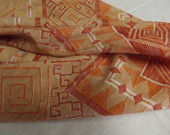 Vintage Scarf - Shades of Orange - NICE!