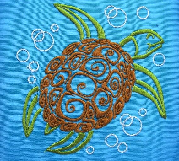 turtle machine embroidery designs
