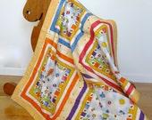 Baby Blanket Toddler Blanket Kids and Kites Stroller Quilt