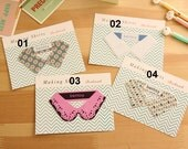 Cute Collar Shape Bookmark/Memo Tag/Memo Marker