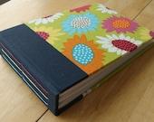 Rainbow Flower Photo Album/ Scrapbook