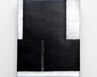 Tunic Invert - original abstract encaustic oil pastel