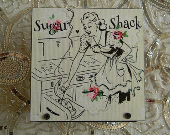 Sugar Shack Napkin Holder Bake Shoppe Baker Kitchen