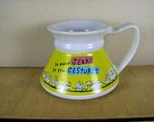 Vintage Hallmark Shoebox Greetings Ceramic Glazed Commuter Travel Mug / Cup No Spill Slip Nice