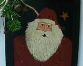 Rustic Santa Sign