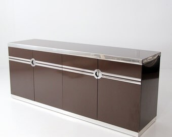 mid century Pierre Cardin credenza, modern sideboard buffet