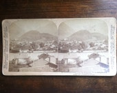 Switzerland Interlaken and Jungfrau 35 Stereoscope Card 1897 New York Underwood and Underwood