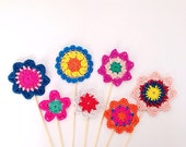 Crochet Flower Ebook - Instant Download