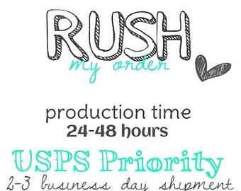 Rush my order fee!