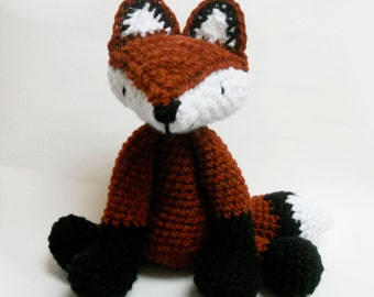 Crochet Fox BIG - SUPERSOFT