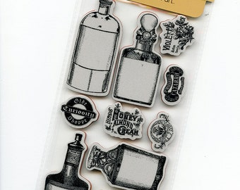 Cling Mounted Rubber Stamps from Graphic 45 - Olde Curiosity Shoppe #2